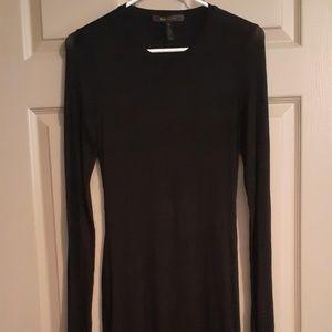 Black BCBG evening dress